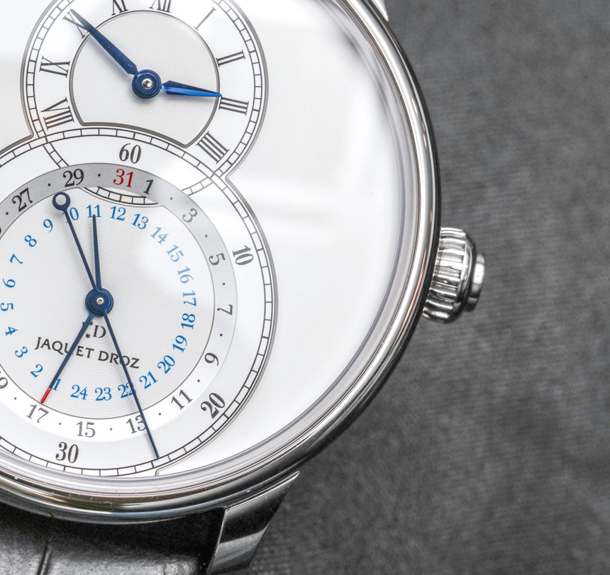 Jaquet Droz Grande Seconde Dual Time Replica Watch Hands-On Hands-On