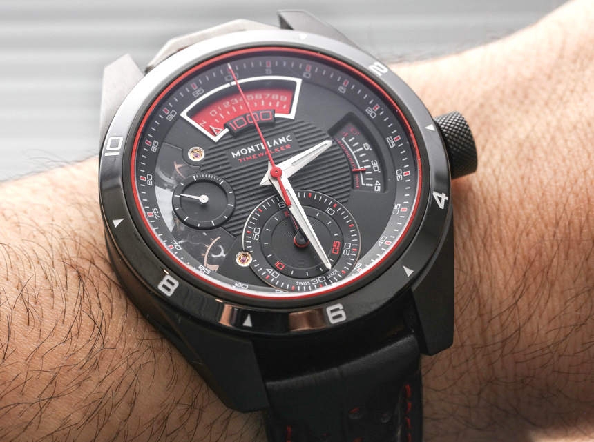 Montblanc TimeWalker Chronograph 1000 Limited Edition 18 Watch Hands-On Hands-On