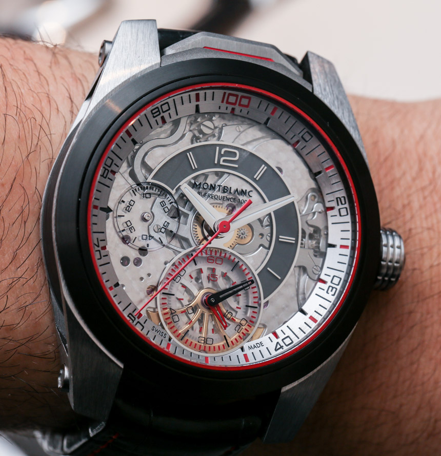 Montblanc Timewalker Chronograph 100 Watch Hands-On: Finally, A Concept Piece For 2014 Hands-On