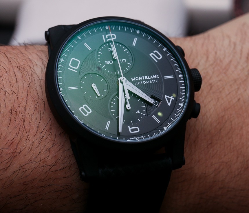 Montblanc Timewalker Extreme Watch Hands-On Hands-On