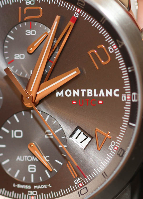 Montblanc Timewalker ChronoVoyager UTC Watch Review Watch Releases