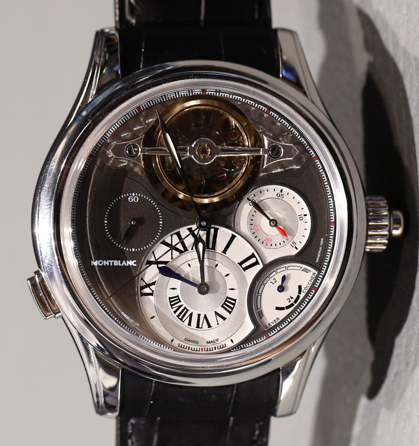 Montblanc Villeret 1858 ExoTourbillon Chronographe Watch Hands-On Hands-On