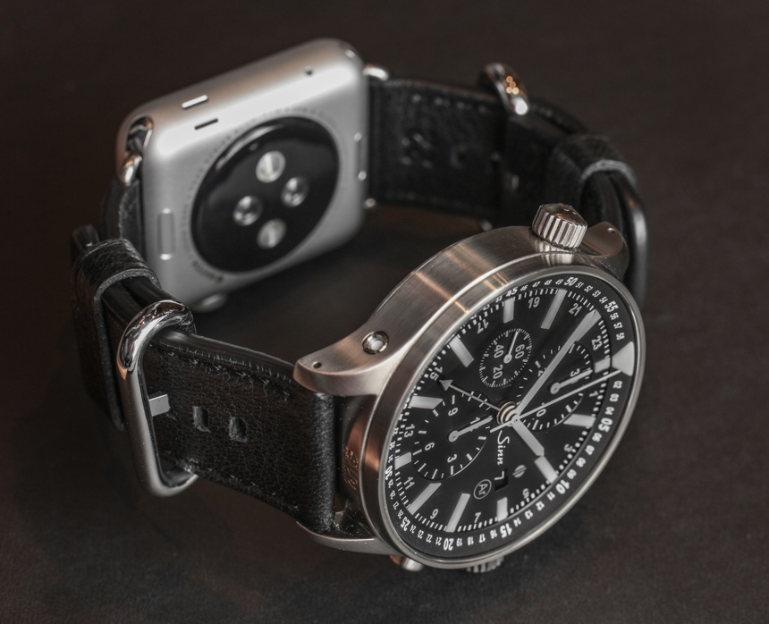 Sinn Dual Strap System Allows Apple Watch & Sinn Watch On The Same Wrist Luxury Items
