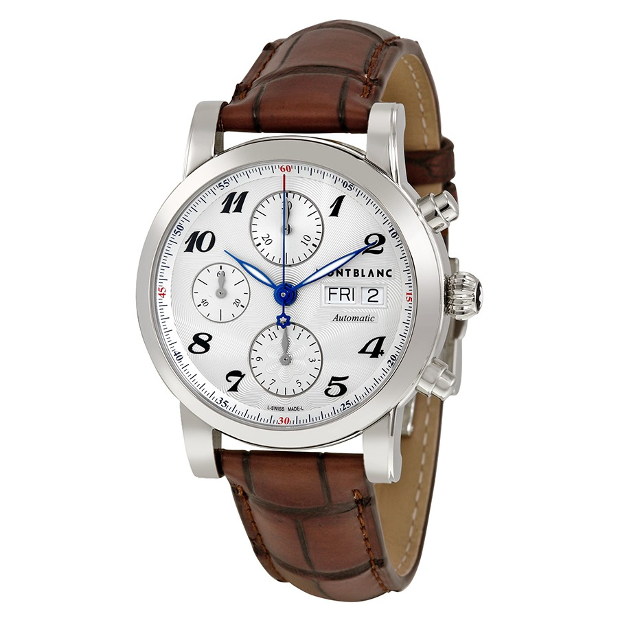 Montblanc Star Automatic Chronograph Silver Dial Men's Watch 106466