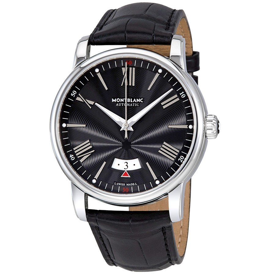 MontBlanc 4810 Automatic Black Dial Men's Watch 115122