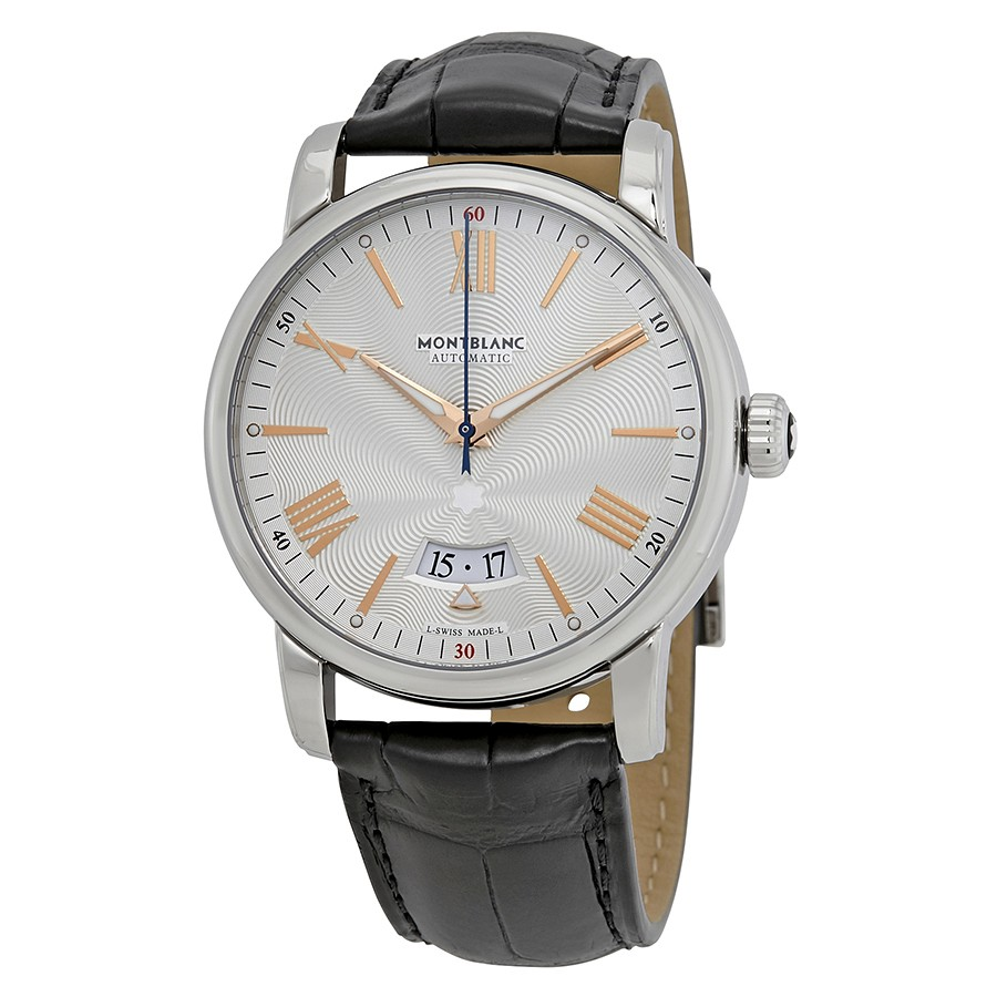 MontBlanc 4810 Automatic Silvery White Dial Men's Watch 114841