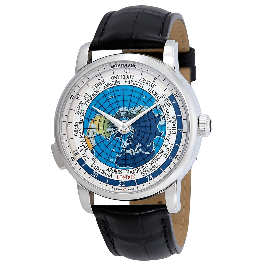 MontBlanc 4810 Orbis Terrarum Automatic Men's Watch 115071