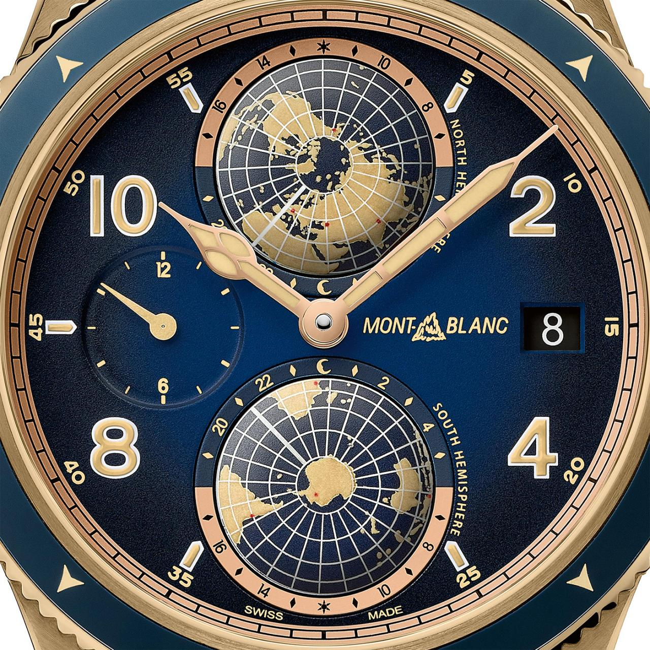 Montblanc Unveils 1858 Geosphere Messner Limited Edition fake Watch Watch Releases