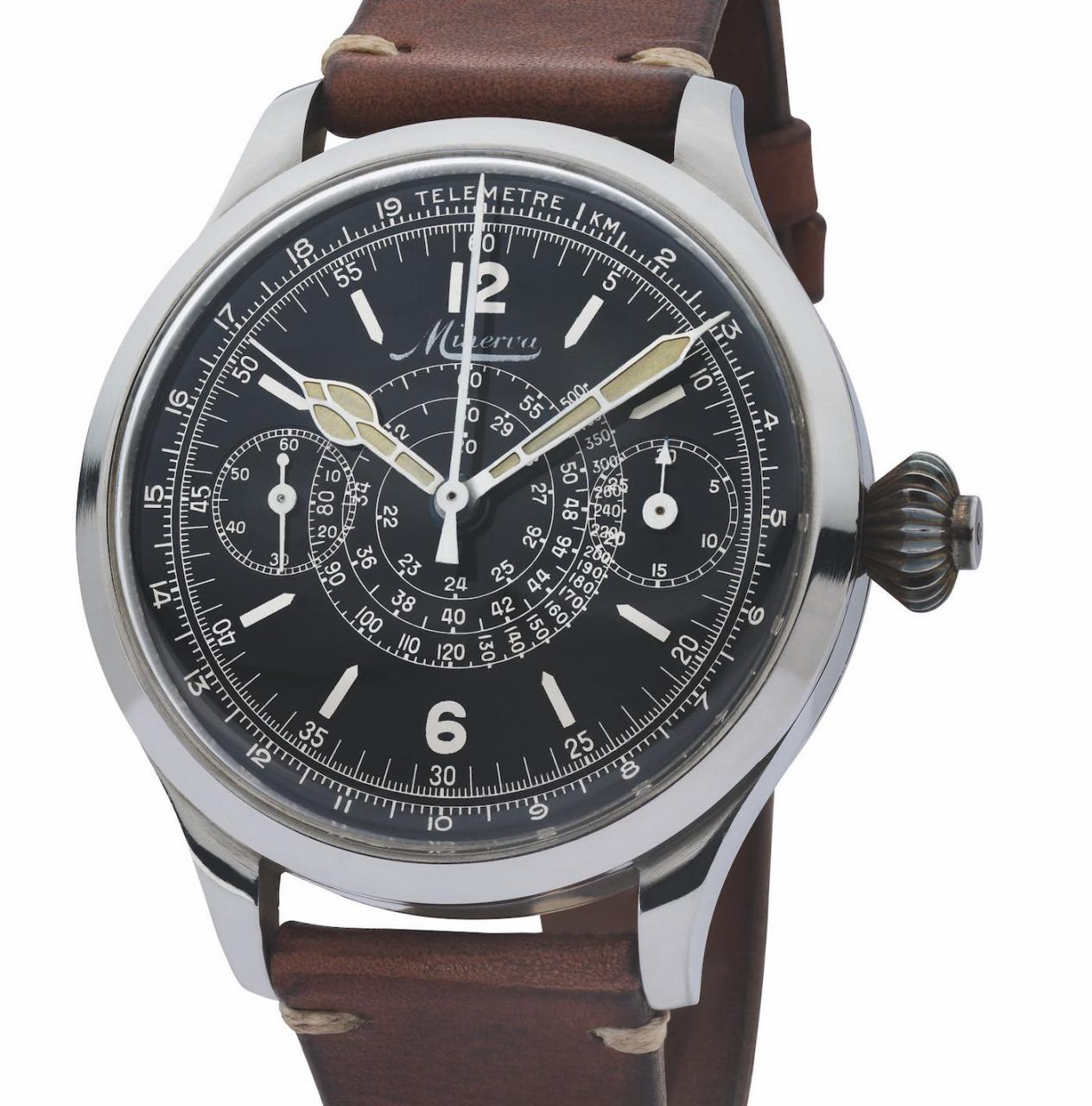 SES Montblanc 1858 Split Second Replica Watches Watch