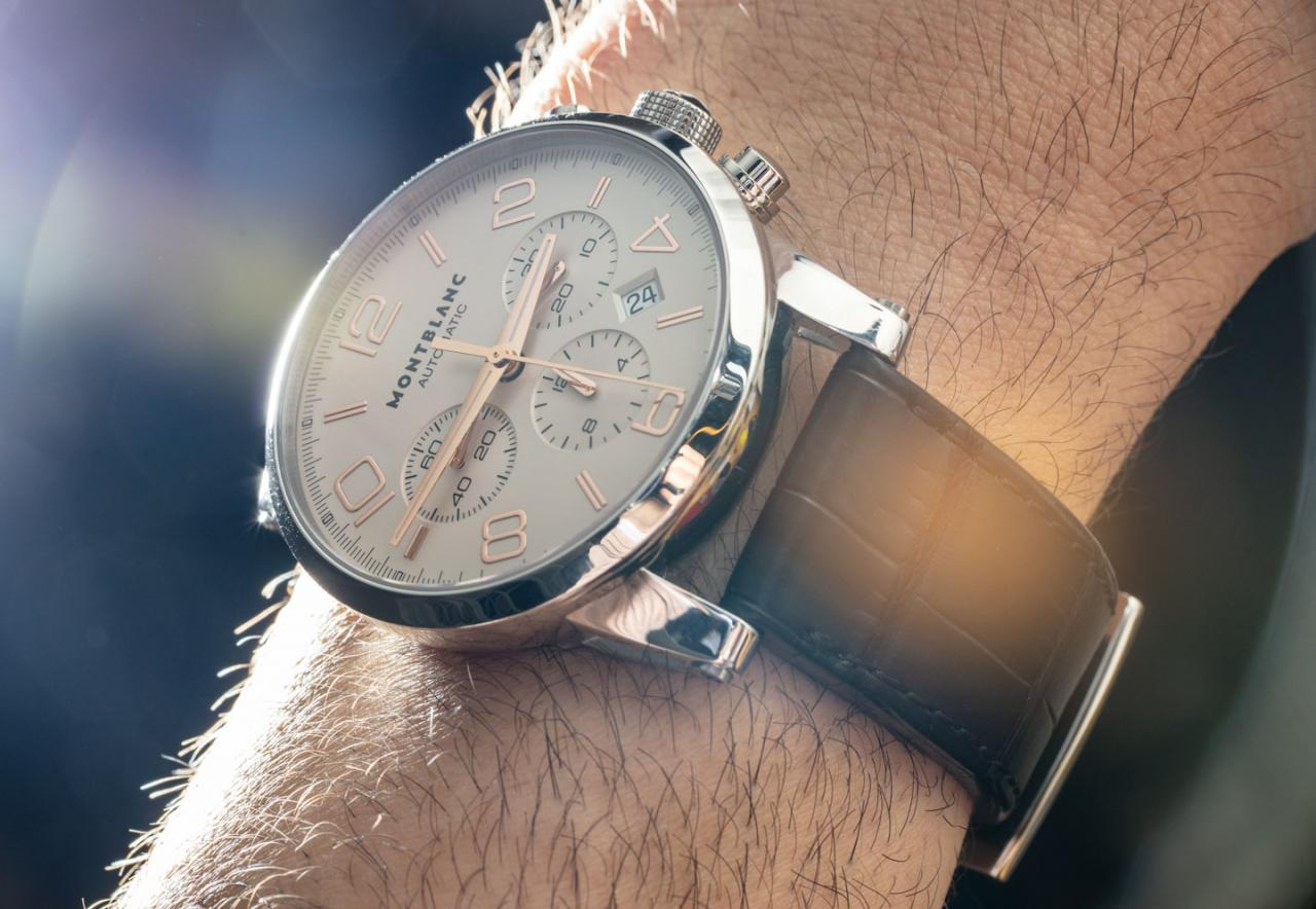 Out of print Montblanc Timewalker Chronograph 101549 fake Watch